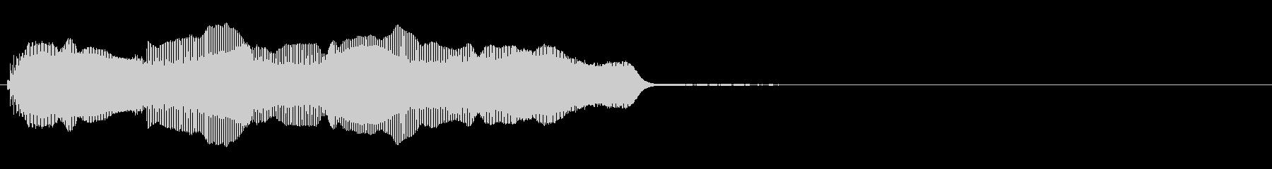 バイオリン:クイックアクセントとア...の未再生の波形