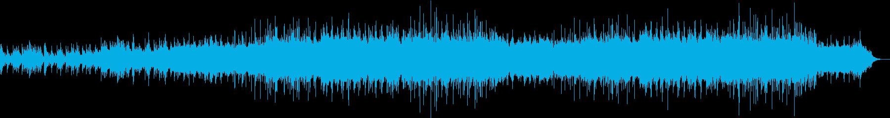 記憶の中の思い出ピアノメロディーの再生済みの波形