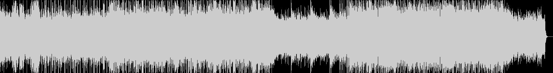 スラップベースとエレキ、ブルースロックの未再生の波形