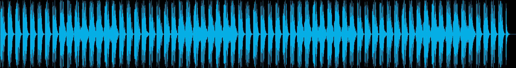 日常・マリンバ・フルート・アニメの再生済みの波形