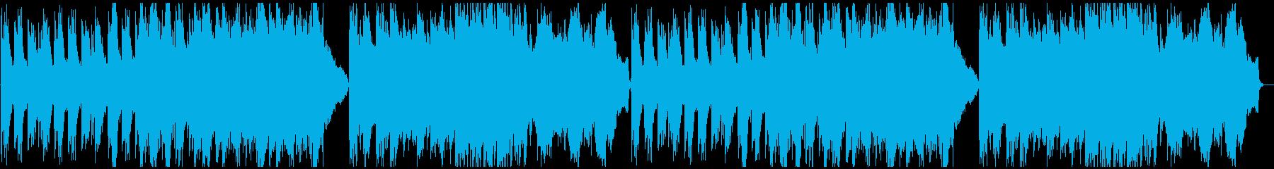 静謐な和風曲の再生済みの波形