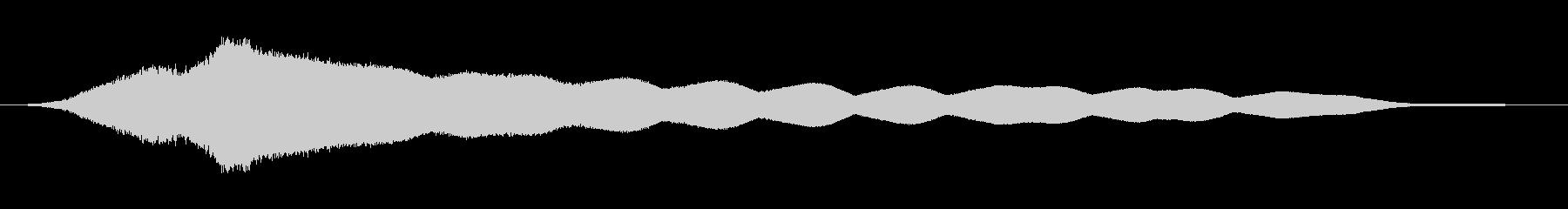 オールドライドシンボルボウCU 2の未再生の波形