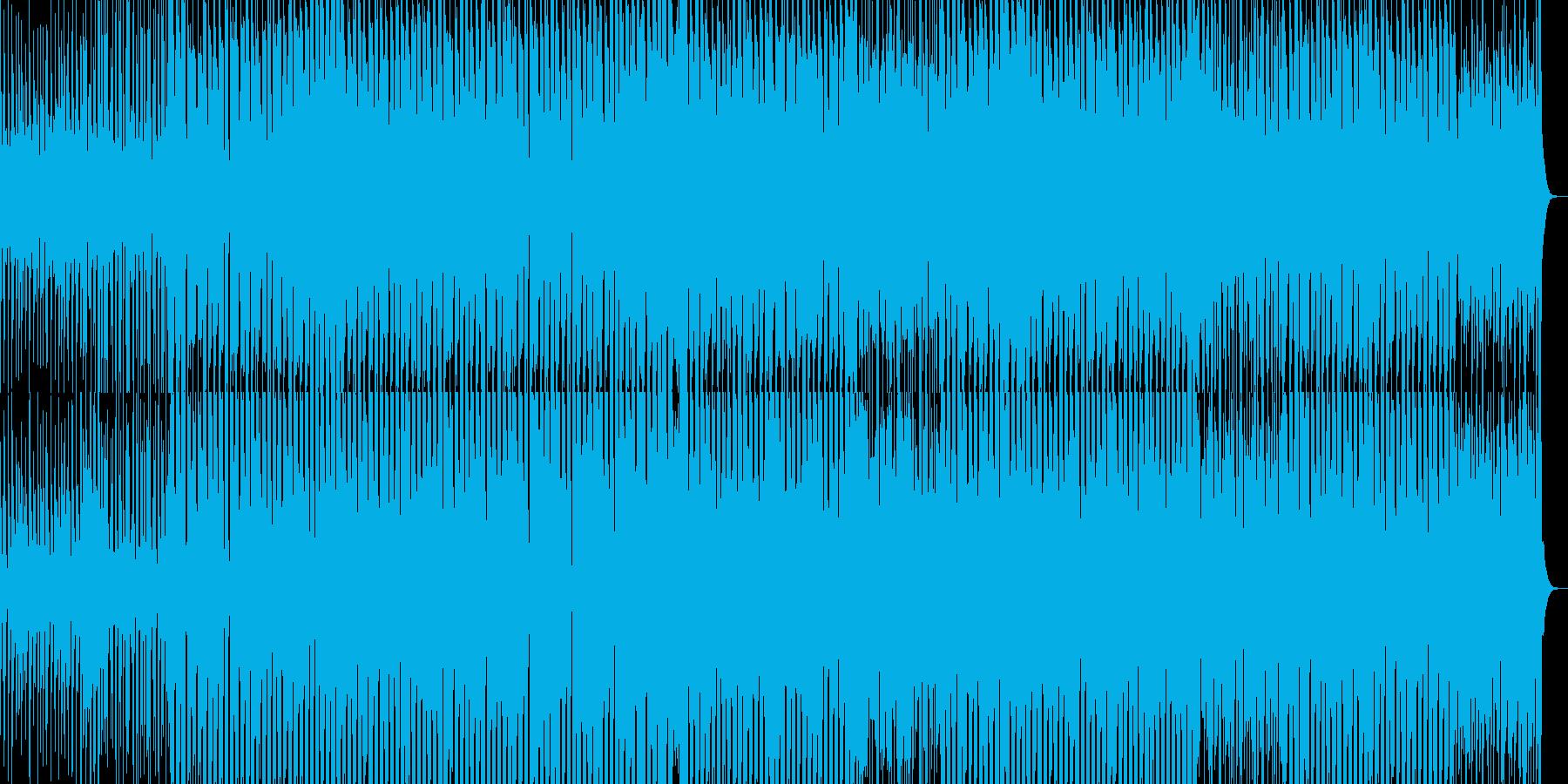 さわやかで鮮やかなイメージのテクノの再生済みの波形