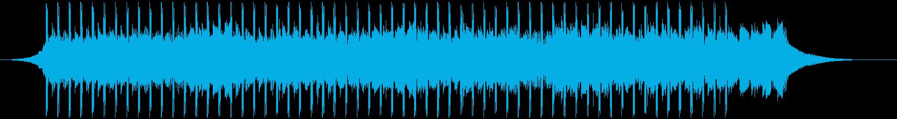 ポジティブ(ショート)の再生済みの波形