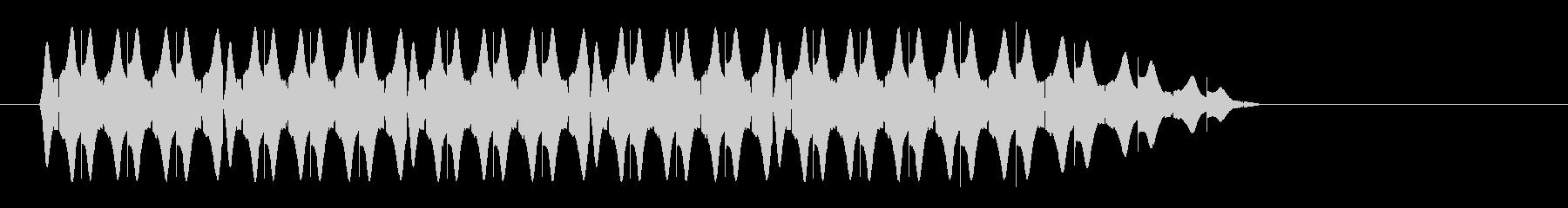 レーザー音-46-3の未再生の波形