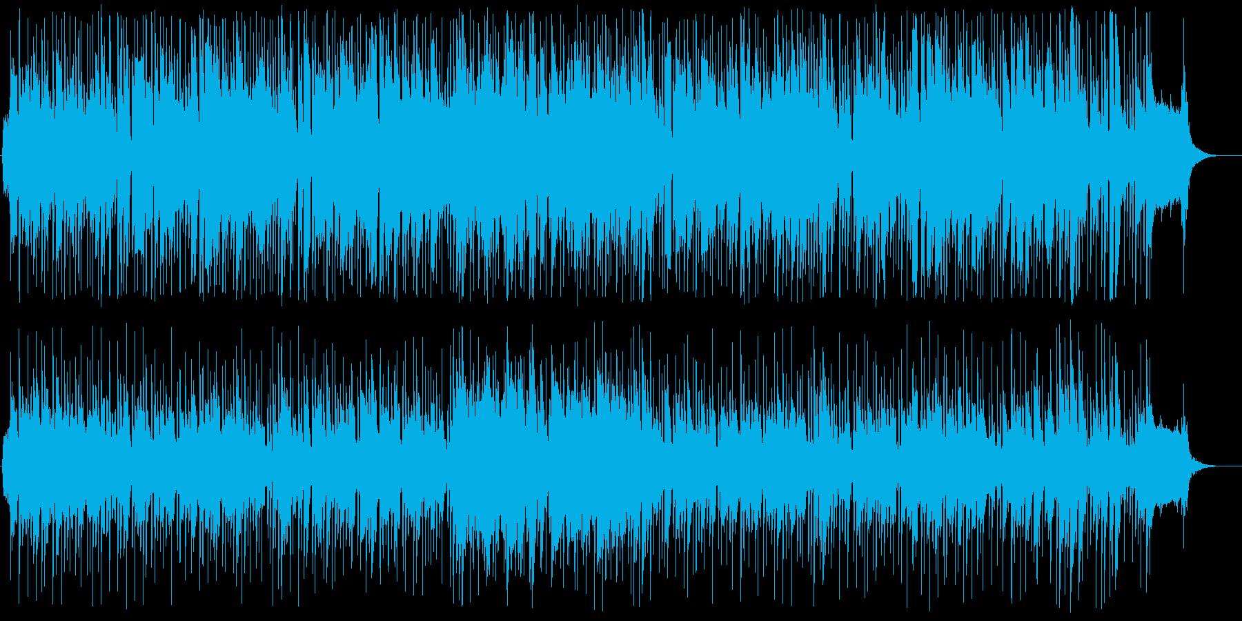 まったり癒やされるほのぼのポップスの再生済みの波形