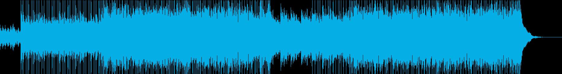 ポップ テクノ ロック カントリー...の再生済みの波形
