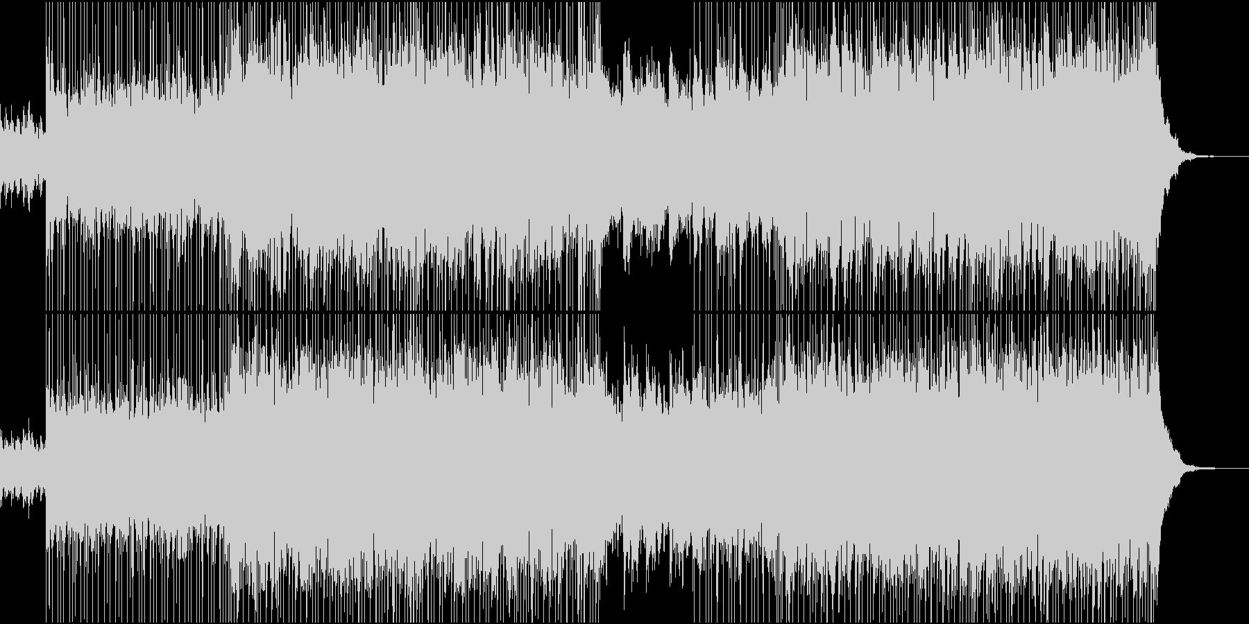 カントリー調、コーポレート系BGMの未再生の波形