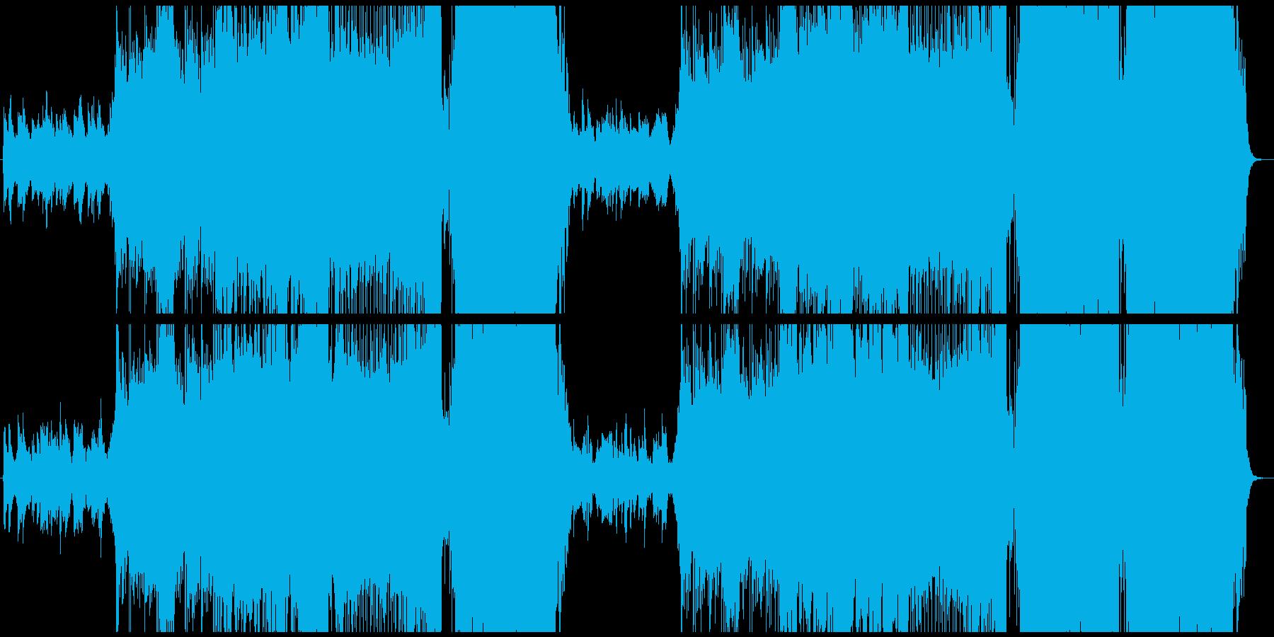 七夕の夜をイメージして作りました。の再生済みの波形