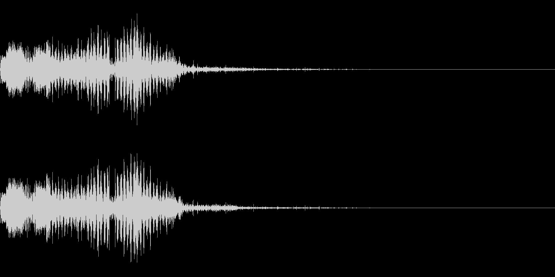 スパーク音-36の未再生の波形