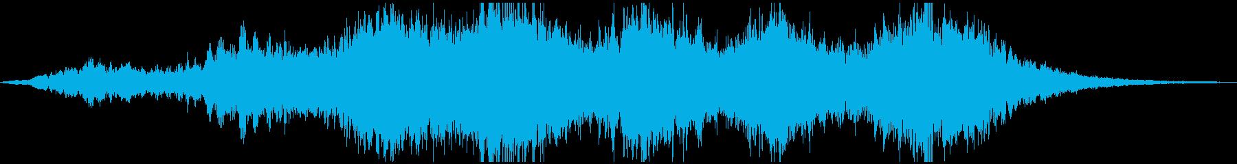 PADS 渦巻く瞑想01の再生済みの波形