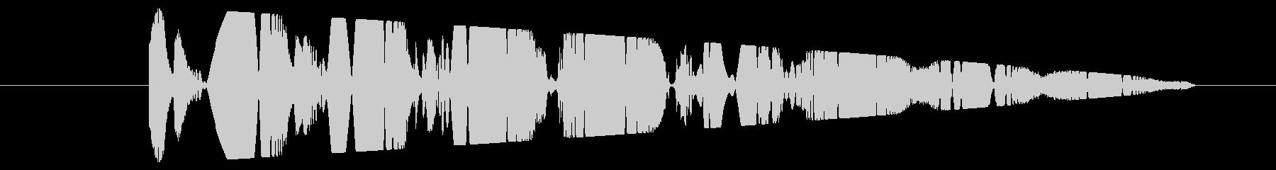 打撃 ウォベリング・トワール01の未再生の波形