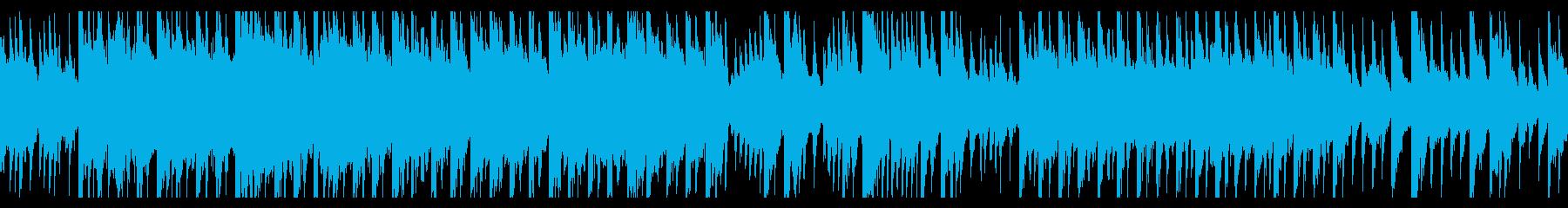 キリっとした和風EDMの再生済みの波形
