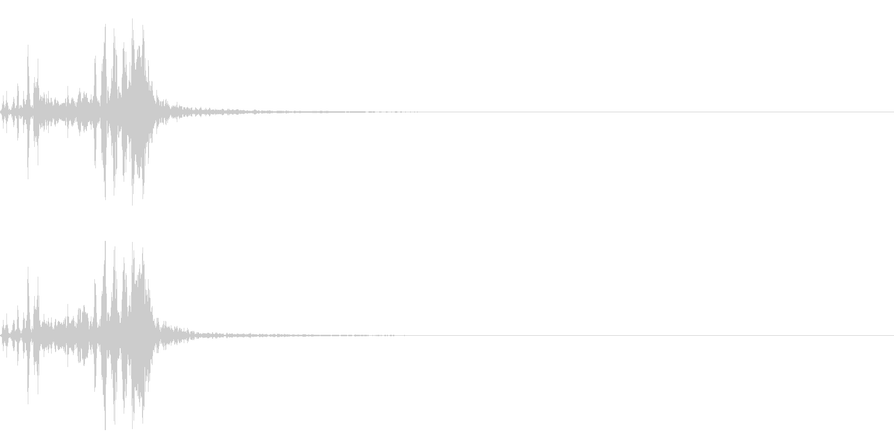 【生録音】フラミンゴの鳴き声 33の未再生の波形