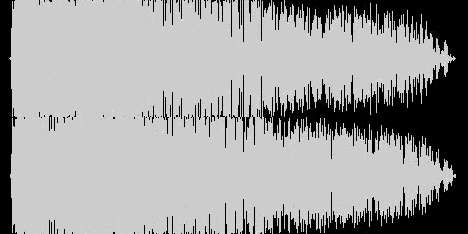 「ダーン」打突音、攻撃音の未再生の波形