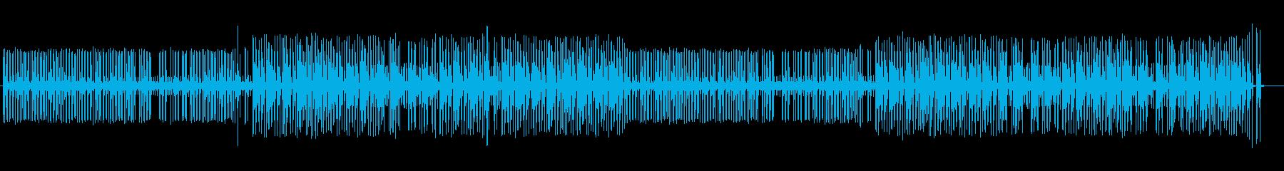 浮遊感を感じさせるシンセポップの再生済みの波形