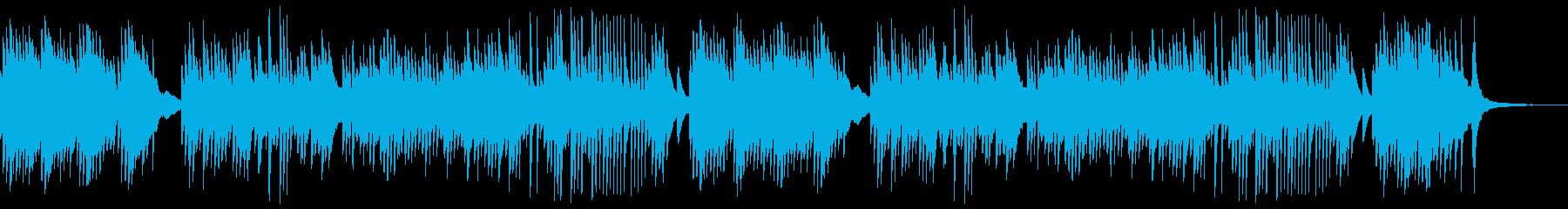 エモーショナルなピアノソロの再生済みの波形