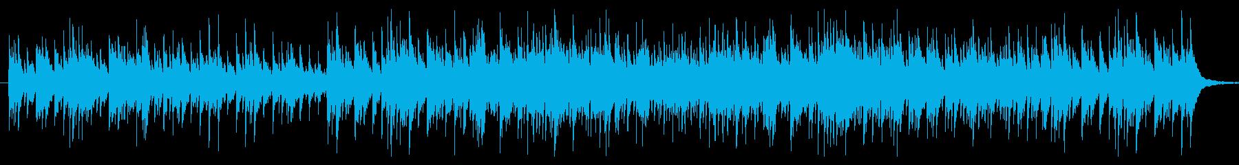 中世ヨーロッパの城下町 夜(環境音無し)の再生済みの波形
