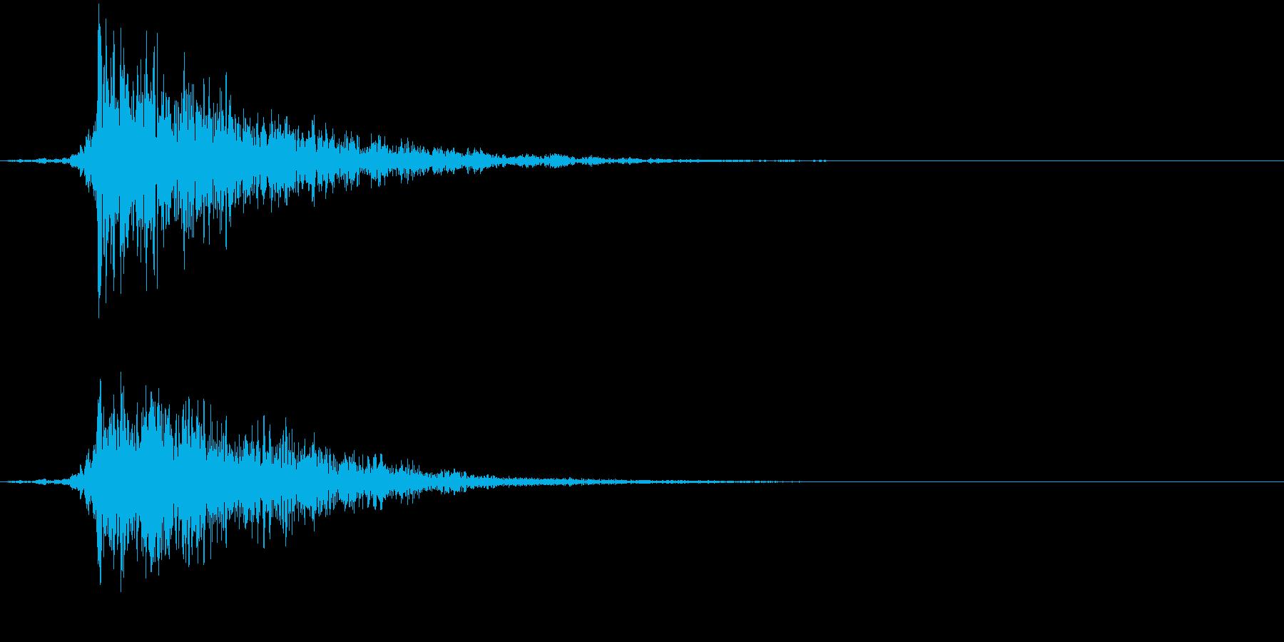 【エピック】映画_02 ヒュンッ!ドンッの再生済みの波形