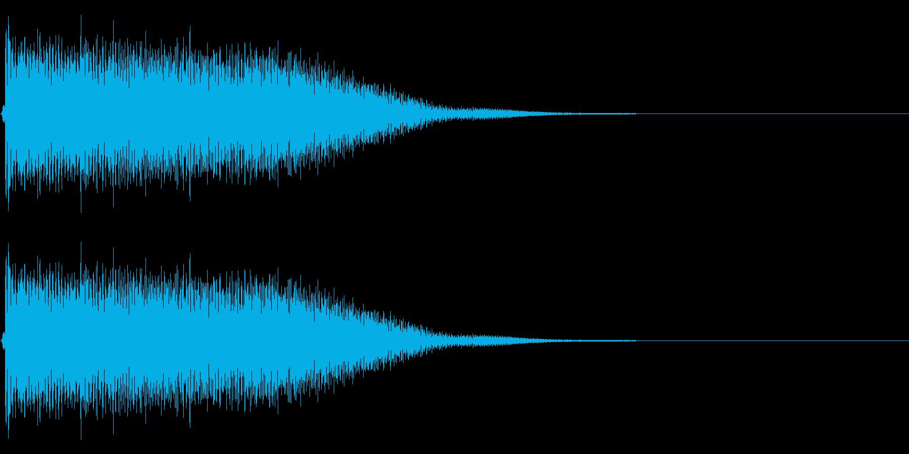 【生録音】ステンレス・スプーンの音 3の再生済みの波形