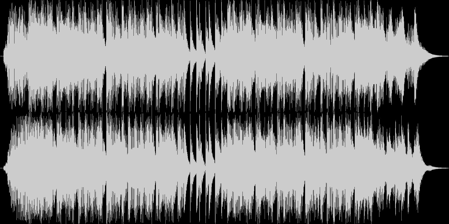 ドタバタなカートゥーンアニメをイメージ…の未再生の波形