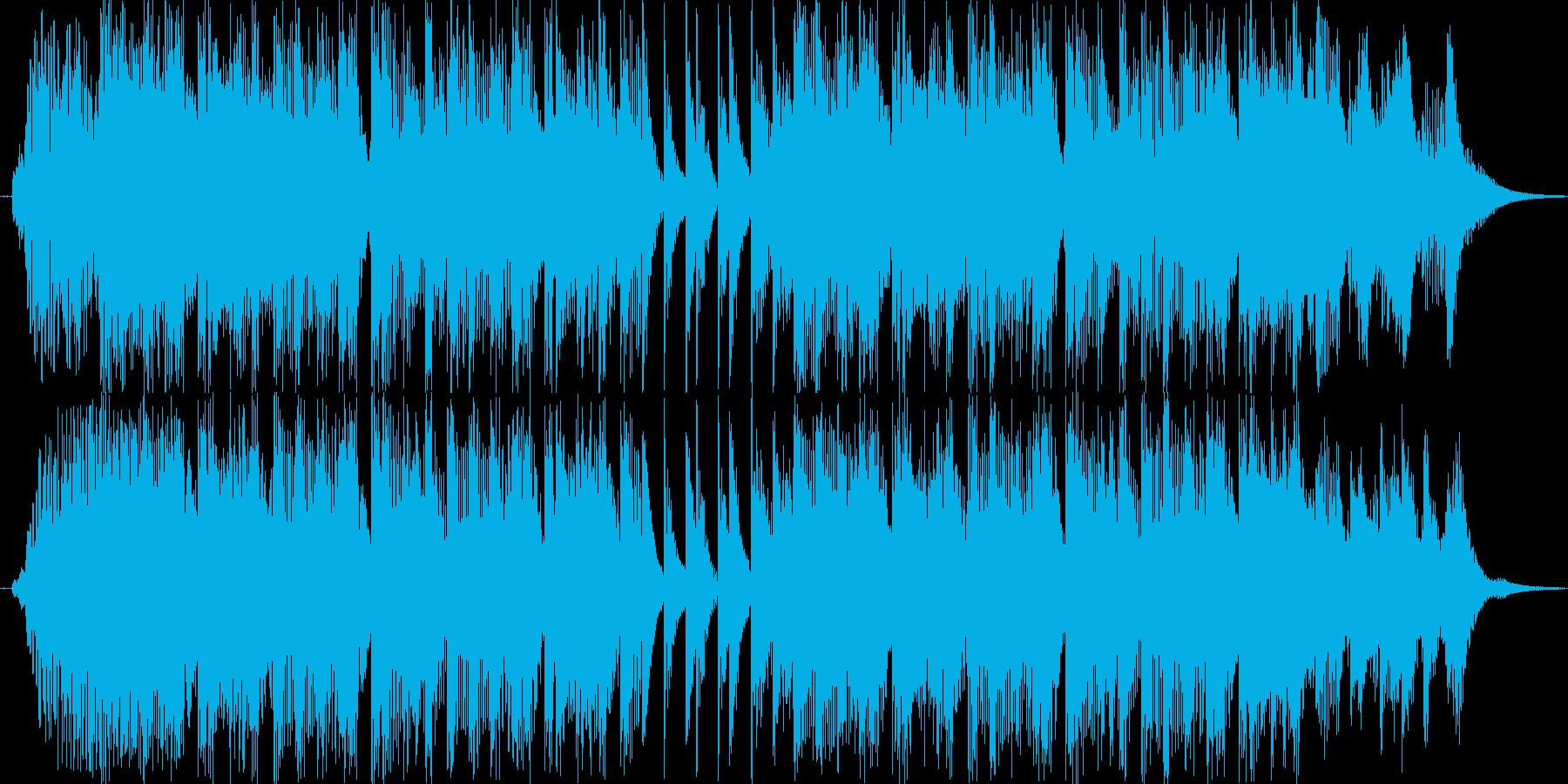 ドタバタなカートゥーンアニメをイメージ…の再生済みの波形