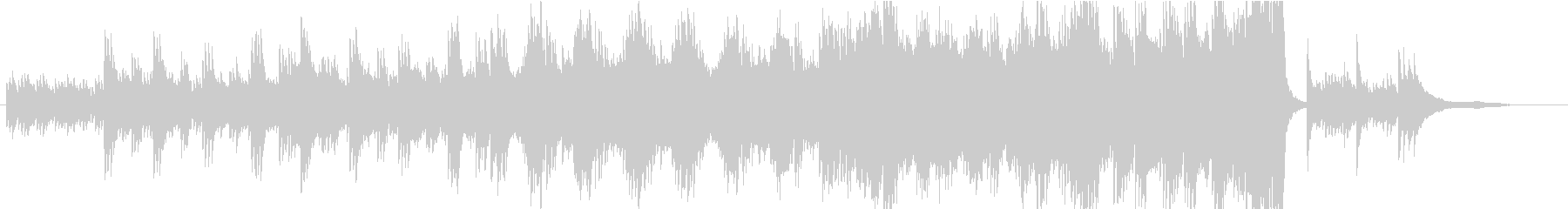 CM】エレガントで落ち着きのあるピアノの未再生の波形