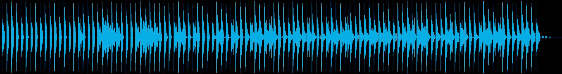 クールなアーバンダンスビートの再生済みの波形