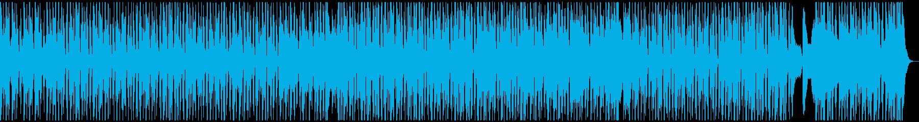 キラキラドリームの再生済みの波形