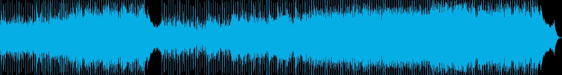 目覚ましポップス、アコースティックの再生済みの波形
