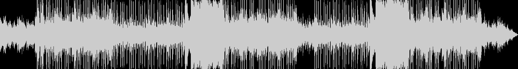 切ないメロディのブーンバップヒップホップの未再生の波形