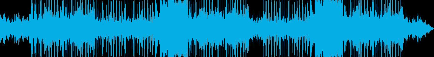 切ないメロディのブーンバップヒップホップの再生済みの波形