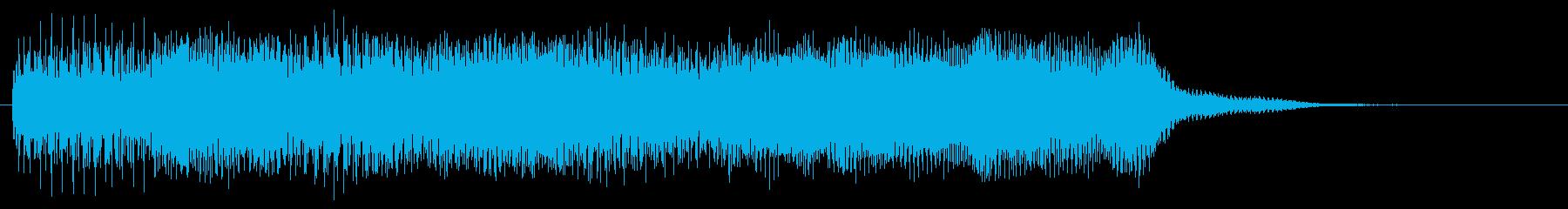 ステージクリア 目標達成 場面転換音の再生済みの波形