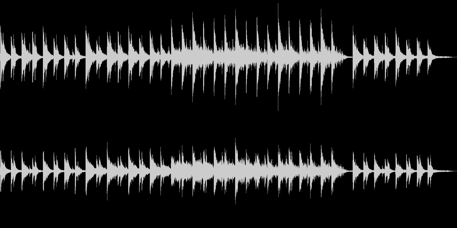 SIZUKUの未再生の波形