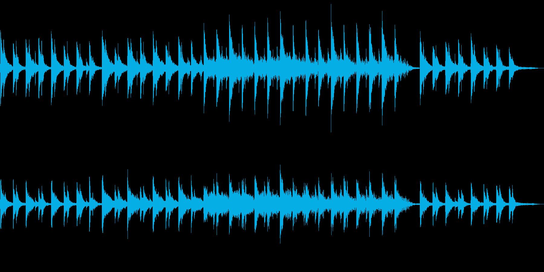 SIZUKUの再生済みの波形