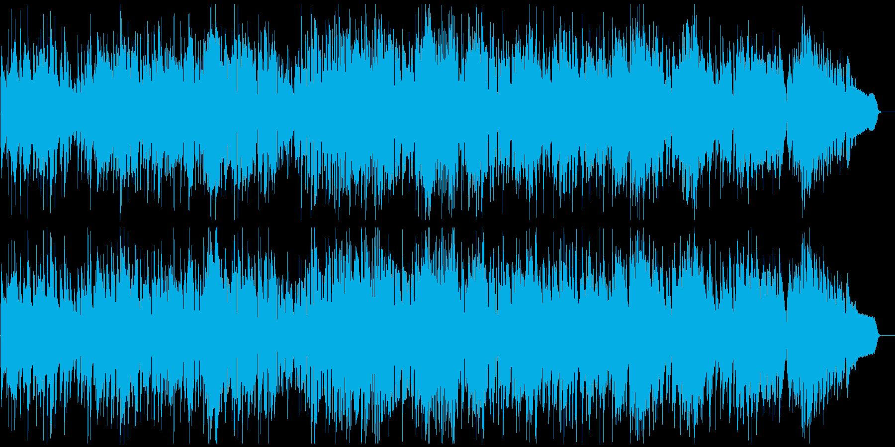 程よいテンポ感のまったりジャズ、サックスの再生済みの波形