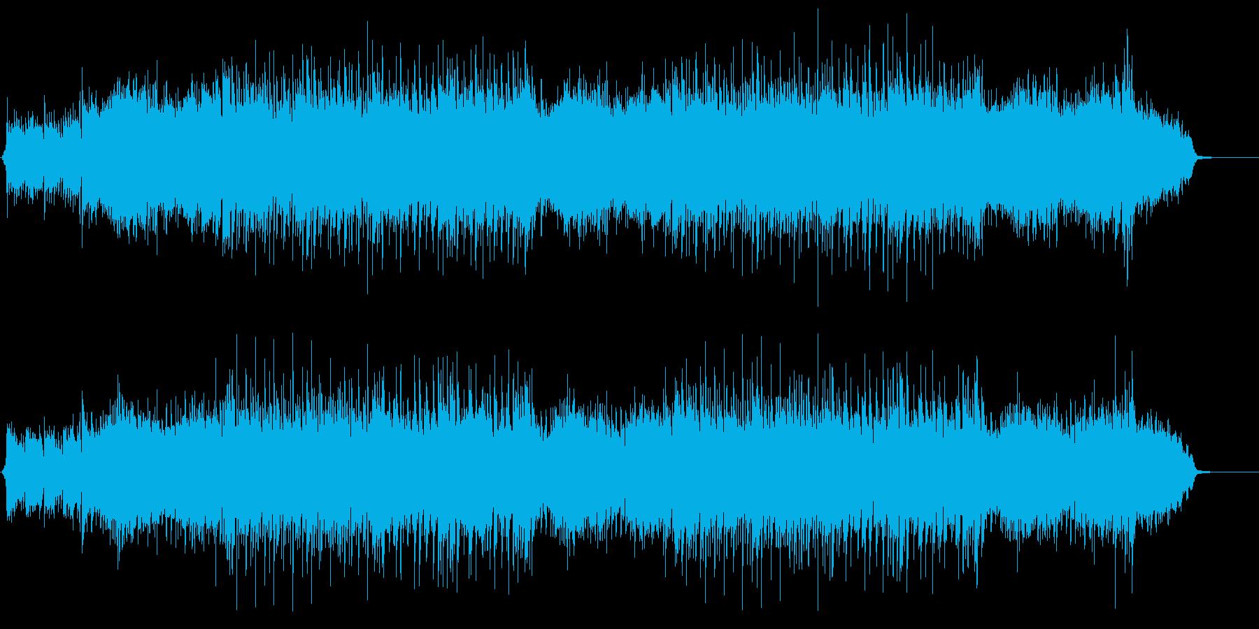 伸びやかで前向きな弦楽合奏ポップスの再生済みの波形