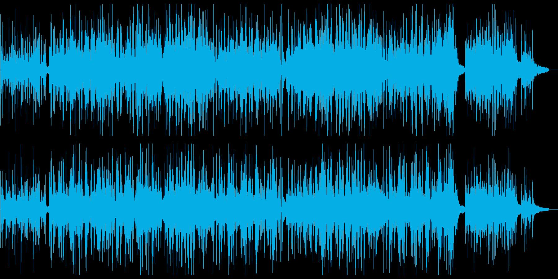 ピアノソロが優しいポップスの再生済みの波形