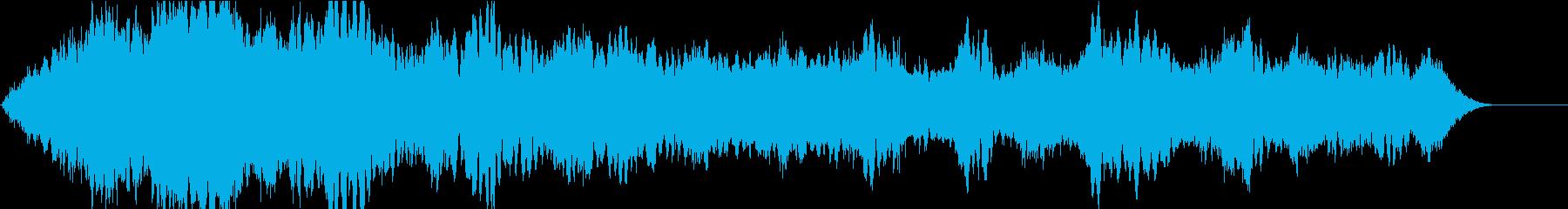 ドローン エジプシャンロー01の再生済みの波形