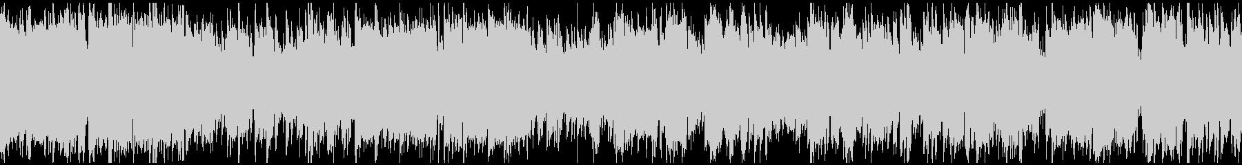 ジャズ+ドラムンベース ※ループ仕様版の未再生の波形
