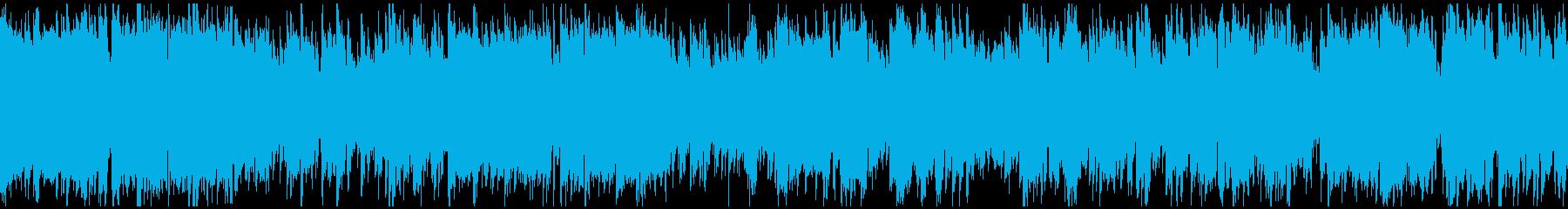 ジャズ+ドラムンベース ※ループ仕様版の再生済みの波形