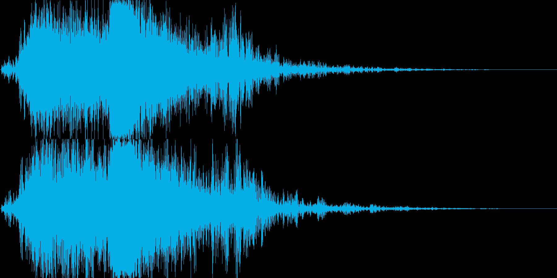 竜やドラゴンの魔法,鳴き声 07!の再生済みの波形