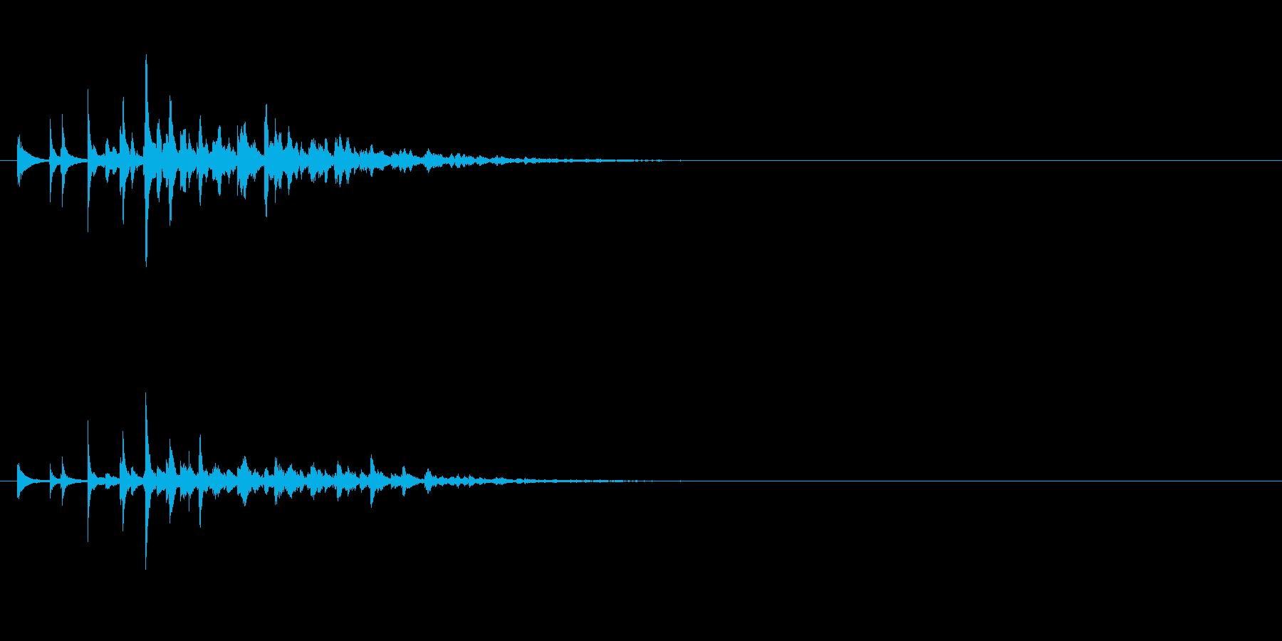 魔法 14の再生済みの波形
