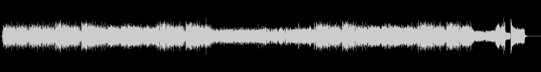 ミュートトランペットの軽快なジャズ曲の未再生の波形