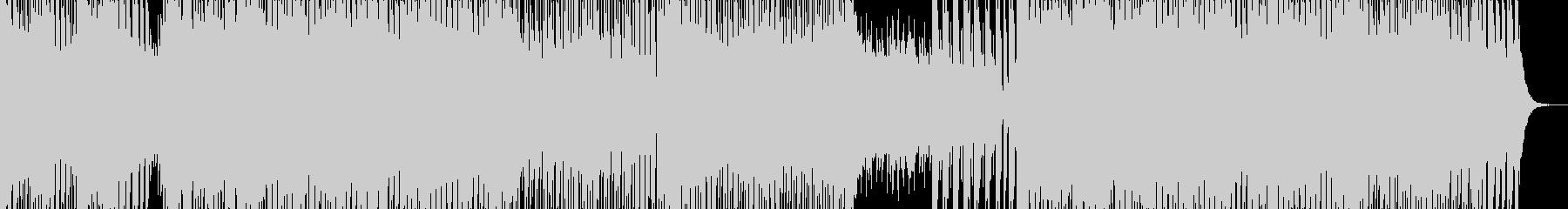 スタイリッシュでノリが良い和風曲の未再生の波形