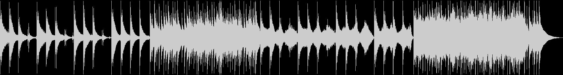 アコギと弦楽器の優しい癒しの映像用音楽の未再生の波形