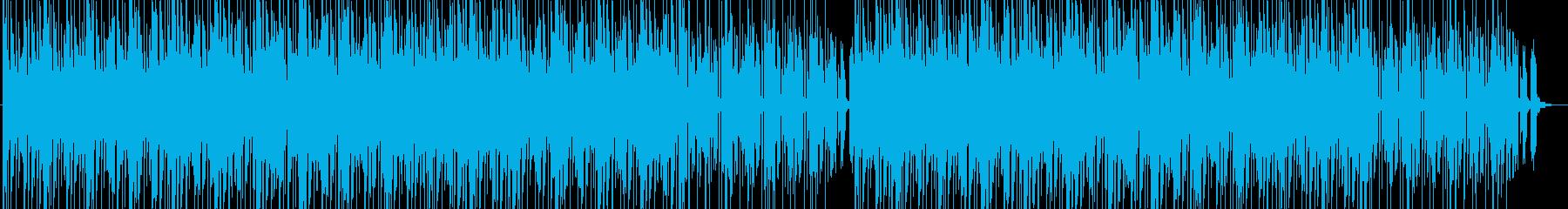 R&B風のリズムに乗せたチルアウトの再生済みの波形