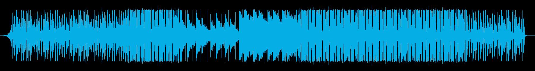 ノスタルジックで楽しげなHipHopの再生済みの波形