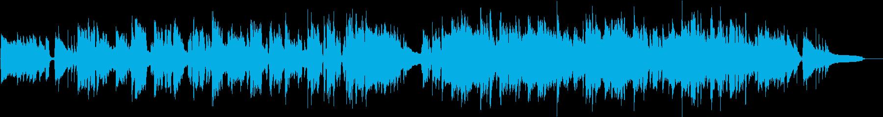 麺つゆをテーマにした楽曲の再生済みの波形