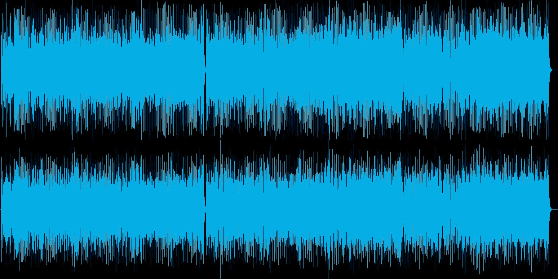グルービーなファンキーロックの再生済みの波形